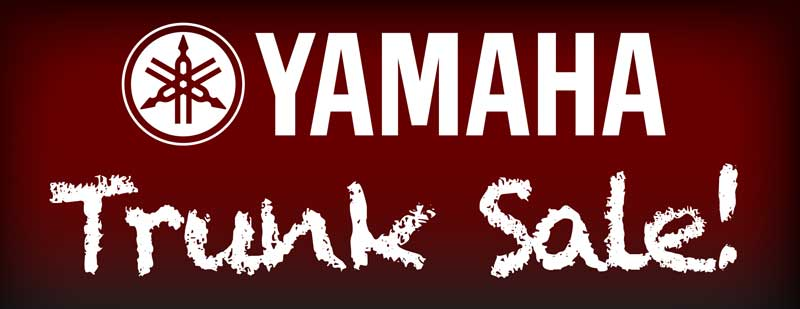 Yamaha Trunk Sale at Paige's Music