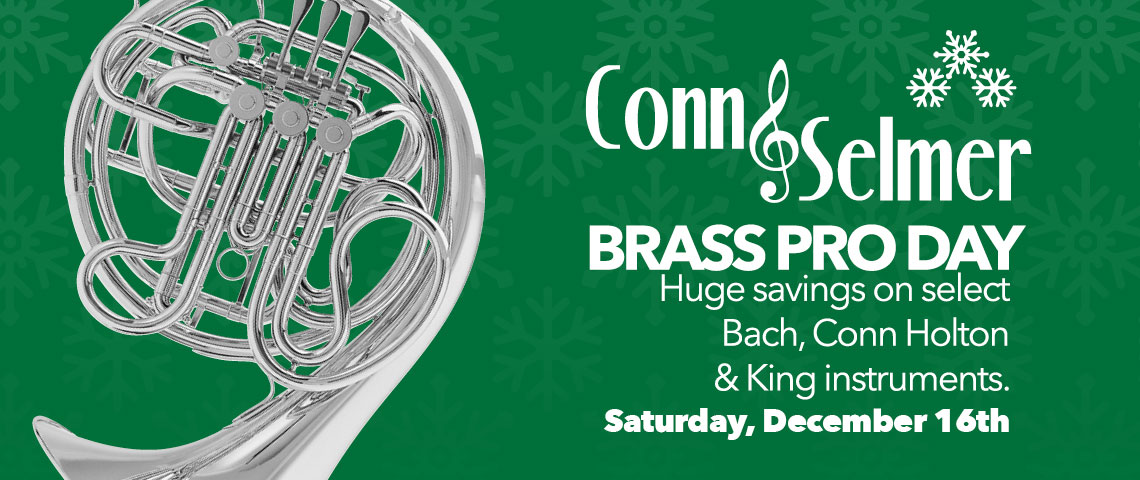 Conn-Selmer Brass Pro Day | Paige's Music News about band